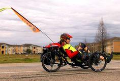 Multiple Sklerose und das Glück auf drei Rädern, Fahrradfahren, Radfahren trutz Multiple Sklerose mit liegetrike, liegende dreirad, liegerad, Österreich, Wien, Graz, Steiermark