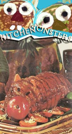 Is that supposed to be a pig? a cat with an enormous nose? a roast-beef impersonator? All we know for sure is that it's a vintage recipe that comes back over and over with all its horrors unanswered.