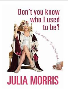 Love Julia Morris and looking forward to reading this soon.