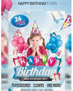 birthday party flyer template のおすすめ画像 26 件 pinterest