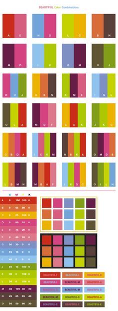Sample Rgb Color Chart Colorful Color Schemes Color Combinations