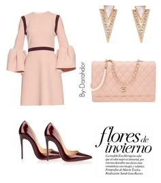 """""""Untitled #42"""" by darahdor on Polyvore featuring Roksanda, Christian Louboutin and Chanel"""