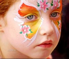 colorfull painted faces-childrens ~ SMS Palace