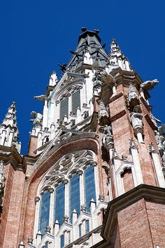 Catedral de La Plata BUENOS AIRES Monuments, Patagonia, Chile, World Traveler, Art And Architecture, Where To Go, Travel Pictures, South America, Temples