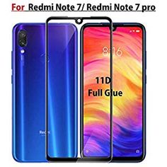 JGD PRODUCTS full edge to edge (Next gen. of tempered glass screen protector for Redmi Note Note 7 pro with free installation cleaning wipes (Launch Offer) Latest Cell Phones, Note 7, New Mobile, 4gb Ram, Tempered Glass Screen Protector, Cleaning Wipes, Free, Black, Products