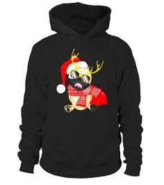 """# Reindeer Deer Pug Puppy Pet T-Shirt Cute Pug with Santa Hat .  Special Offer, not available in shops      Comes in a variety of styles and colours      Buy yours now before it is too late!      Secured payment via Visa / Mastercard / Amex / PayPal      How to place an order            Choose the model from the drop-down menu      Click on """"Buy it now""""      Choose the size and the quantity      Add your delivery address and bank details      And that's it!      Tags: Christmas is the best…"""