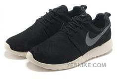 on sale 2fa68 f72d3 Nike Roshe Run Pas Cher Femme Coal Noir Charcoal Mesh Couple