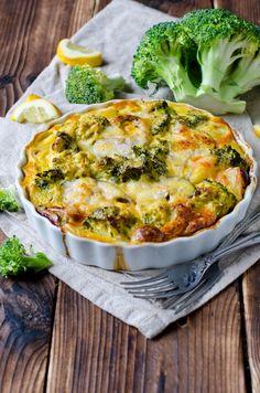 Conopida și broccoli cu brânză a la Jamie Oliver