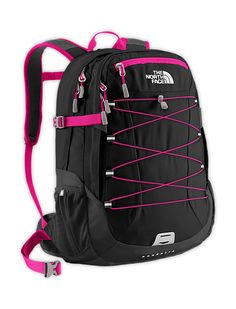 GRAY AND BLUE  The North Face Equipment Daypacks WOMENS BOREALIS BACKPACK