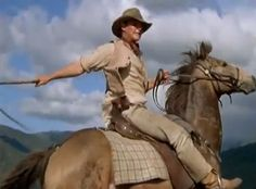 'The Man from Snowy River' because some days I just need to believe in someone like Jim Craig