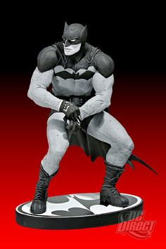 DC Direct Batman Black and White Statue by Paul Pope / Jean St. Jean