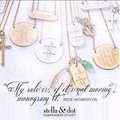 Personalize it with Stella & Dot