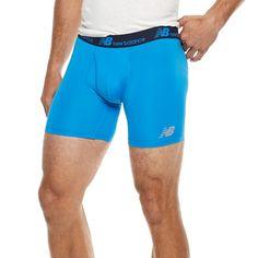 Men's New Balance Dry Fresh Boxer Briefs, Med Blue Boxer Briefs, Boxers, 6 Inches, New Balance, Underwear, Swimwear, Blue, Men's Fashion, Fresh