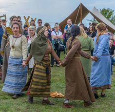 Various Slavic costumes (with the focus on dresses, jewellery and accessories) and a few ones of noticeable Viking influences. All pictures are from Rękawka 2014 - the annual Slavic festival at the...