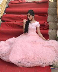 Jannat in beautiful pink dress Stylish Dresses, Casual Dresses, Fashion Dresses, Classy Outfits, Beautiful Outfits, Teen Celebrities, Celebs, Cute Girl Poses, Stylish Girl Images