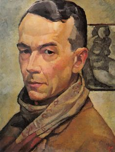 Self-Portrait: Edwin Holgate c. 1945 - The Montreal Museum of Fine Arts - Dr F.J. Shepherd Fund, 1946