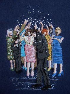 Fantastically Strange Embroidery Works by Michelle Kingdom | Hi-Fructose…