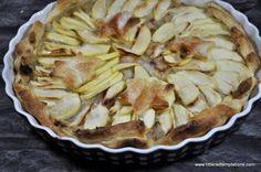 Schnelle Apfel-Tarte
