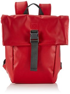 BREE Punch 92, S 83152092 Damen Rucksackhandtaschen 36x42x12 cm (B x H x T), Rot (red 152) - http://herrentaschenkaufen.de/bree/rot-red-152-bree-punch-92-backpack-small-uni-sex-50-x