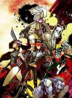 Marvel Super Heroes By Dennis Menheerepy