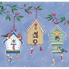 Send season greetings and help out a charity by buying one of these great charity Christmas cards. Charity Christmas Cards, December Daily, Bird Houses, Seasons, Christmas Ornaments, Holiday Decor, Outdoor Decor, Google Search, Blog
