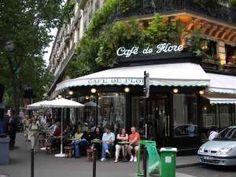 The famous Cafe de Flore in Paris