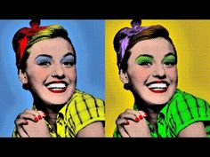 Photoshop Tutorial: How to Make a Warhol-style, Pop Art Portrait from a Photo! - YouTube