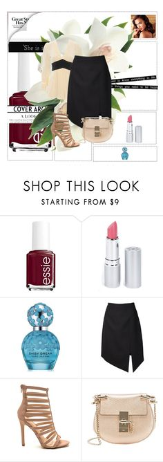 """first timer"" by shelly-branderson ❤ liked on Polyvore featuring Avon, Essie, HoneyBee Gardens, Marc Jacobs, Yves Saint Laurent, Chloé, Friend of Mine, women's clothing, women and female"