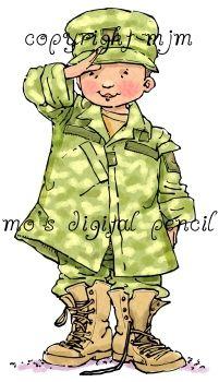 Mo's Digital Pencil - Soldier boy, $3.00 (http://www.mosdigitalpencil.com/soldier-boy/)