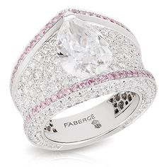 Sarafan Diamond Ring | Fabergé Rings | Fabergé.com