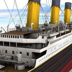 Titanic Model, Real Titanic, Titanic Photos, Titanic History, Graveyard Shift, Model Ships, Hobby, Beautiful Architecture, Water Crafts