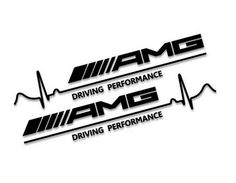 Mercedes-Benz AMG Driving Performance Decal (2x)