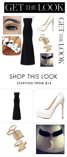 """Get the Look: Met Gala 2016"" by torimccormack8 ❤ liked on Polyvore featuring Roland Mouret, Charlotte Russe, Topshop, GetTheLook and MetGala"