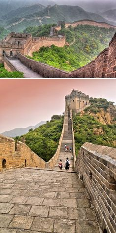 Walk the Great Wall of China. My sisters done this she said it was amazing. (She stole a stone from the wall. That's an added part of my bucketlist)