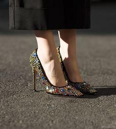 Miu Miu heels / Garance Doré
