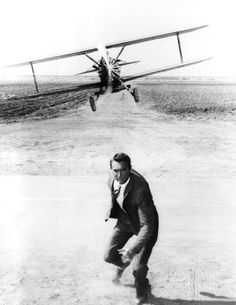 "Cary Grant in ""North by Northwest"" (1959). COUNTRY: United States. DIRECTOR: Alfred Hitchcock."