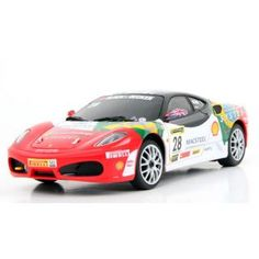 RC Cars :: 1:24 Ferrari GT F4301 RC Car - RC Helicopter Select: Top Radio Control Helicopters from Top Brands