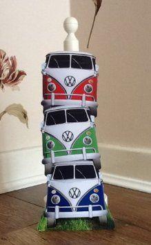 Wooden VW Camper Van Kitchen Roll Holder: Amazon.co.uk: Kitchen & Home