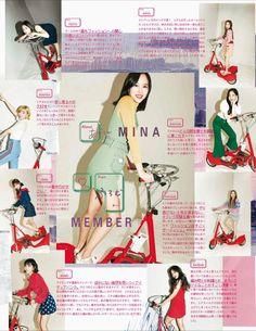 TWICE - vivi Japan Magazine (Bounce-Mina)
