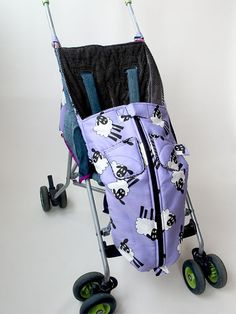 Warm Buggy Bag Sewing Pattern. $9.95, via Etsy.