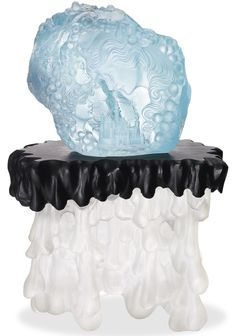 Wallace Chan, Young Prince, Fine Jewelry, Jewellery, Black Agate, Queen, Blue Topaz, Jade, Castle