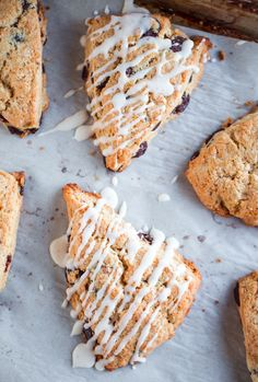 Rich, flaky, and decadent brown butter chocolate chip scones. Perfect for breakfast or an afternoon snack!