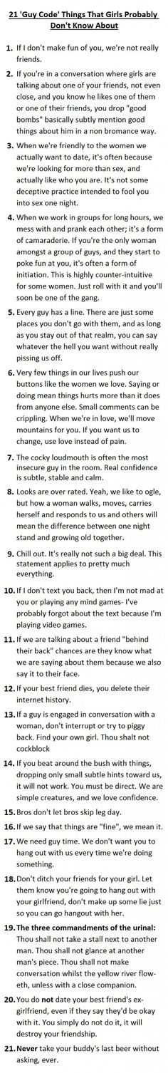 20 Things Women Do That Men Probably Don't Know About. #6 Is Shockingly Accurate.