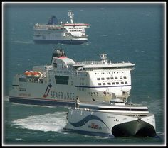 Ferry queue - Dover 24th July 2009 by Paul @ Doverpast.co.uk, via Flickr
