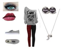 """""""Moniques outfit 2"""" by children-surrender-0 ❤ liked on Polyvore featuring Shiseido, With Love From CA and Vans"""