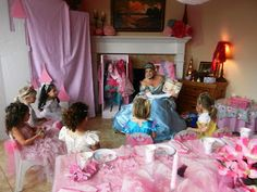 Princess Party Game: Story Time