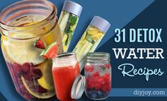Looking for some of the easiest and best ways to make a healthy start in 2016? Try these amazing recipes for DIY detox waters that promote health, diet and weight loss. Cleanse your skin, body and brain with these homemade teas and waters to lose weight and restore energy. Remove toxins and cleanse