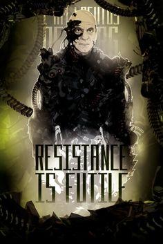Star Trek TNG - Locutus of Borg - Resistance is Futile!