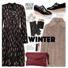 Faux Fur Coats (plus size fashion)