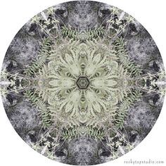 Nature Mandala Art Print by Allison Trentelman | rockytopstudio.com